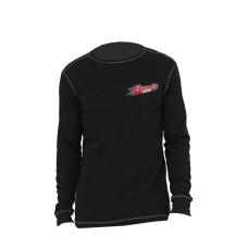 Burris Black Long Sleeve Thermal Underwear