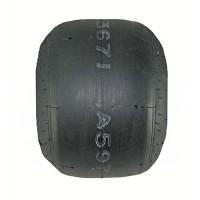 11 X 6.00-6 Oval Slick Tire