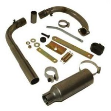 YF200 R1 Complete Exhaust System - Oval Kart