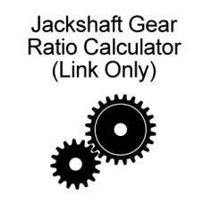 Jackshaft Ratio Calculator - link