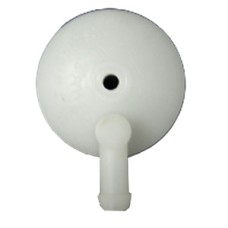 Fuel Strainer Cover - White
